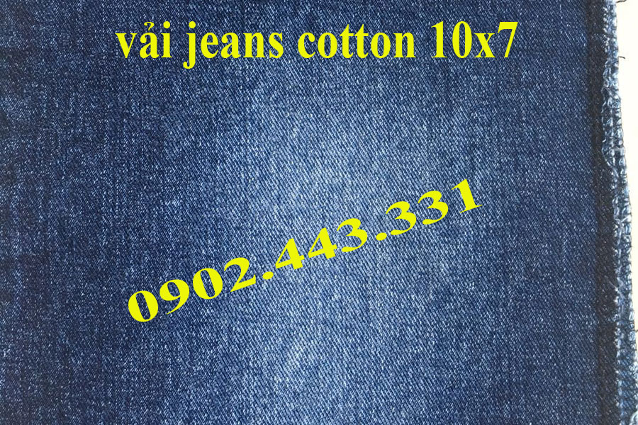 VẢI JEAN COTTON 10X7