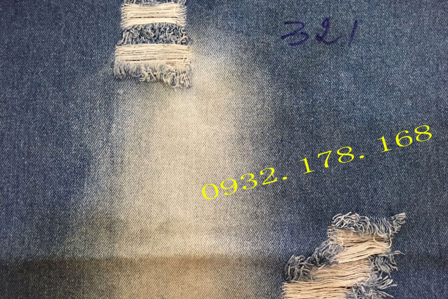 Vải jean cotton 321